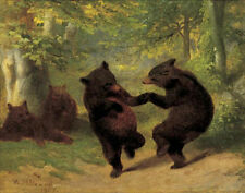 Dancing Bears  William Beard Fantasy Humor Print 24x32
