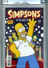 SIMPSONS COMICS #219 CGC 9.8 BONGO COMICS 2015