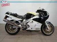 Yamaha FZR 1000 White 1989 Spares or Repair Restoration Project Damaged