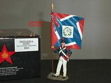 KING AND COUNTRY NE33 NAPOLEON IN EGYPT DEMI BRIGADE FLAGBEARER TOY SOLDIER