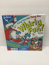 Dr. Seuss Thing Two And Thing One Whirly Fun Board Game