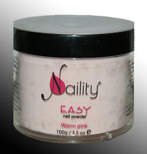 poudre acrylique Naility EASY warm pink  100g