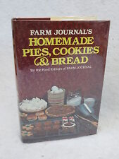 Farm Journal  HOMEMADE PIES, COOKIES & BREAD Crown Publishers 1983 HC/DJ