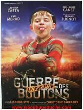 LA NOUVELLE GUERRE DES BOUTONS Affiche Cinéma / Movie Poster LAETITIA CASTA