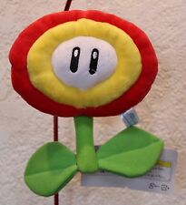 "New Super Mario Bros Red Fire Flower 6"" Plush Figure Stuffed Doll Nintendo Toy"