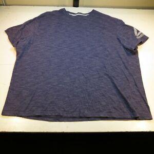 REEBOK ATHLETIC TEE T SHIRT Mens 5XL Purple