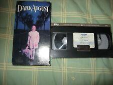 Dark august/vhs/kim hunter