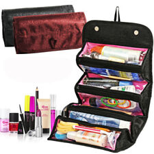 Best Roll N Go Makeup Case COSMETIC BAG Roll Up Travel Pouch Smart Toiletry Bag