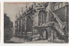 Cirencester Church North Door Postcard, B091