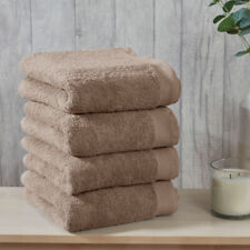 4 Pack Hand Towels - Charcoal - Hand Towel |  Towels Collection Sleepdown