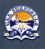CVA-38 CV-38 CVS-38 USS SHANGRI-LA US NAVY Ship Squadron Cruise Jacket Patch