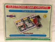 Elenco Electronic Snap Circuits Manual Projects 102-305
