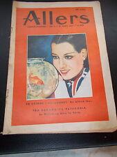 Allers Familie Journal Nr.15 Dated  April 1937