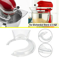4.5-5QT Bowl Pouring Shield Tilt Head Parts For Kitchen AidStand Mixer Transpare