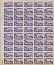 1948, WISCONSIN STATEHOOD, FULL SHEET MNH