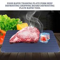 Plateau de décongélation rapide Plaque de dégel rapide pour décongeler la viande