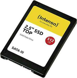 INTENSO SOLID STATE DRIVE SSD TOP 2,5 512GB SATA3 3812450