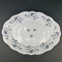 Johann Haviland Traditions Fine China Blue Garland Serving Platter
