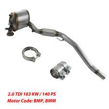 Neu Dieselpartikelfilter DPF für Audi VW Seat Skoda 1,9 2,0 TDI 103KW BMP BMM