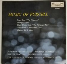 Music of Purcell Lp London L'oiseau-lyre  Stereo SOL 60002