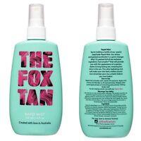 The fox tan rapid tanning mist 120ml  fast tanning spray free fast post