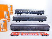 CQ804-1# 3x Roco H0/DC Personenwagen FS NEM: 4283 + 4284, sehr gut+OVP