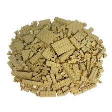 LEGO® 100 beige Steine - Hochsteine, Fließen usw. - Tan