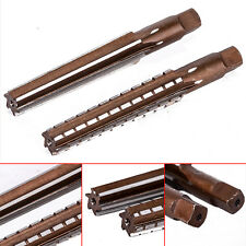 2pcs MT2 Steel Morse Taper Hand Reamers Milling Finishing Cutter Tool 1.5x12.5cm