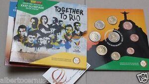 2016 Belgio 9 monete 5,88 EURO Rio Belgium Belgica belgique Belgien Бельгия