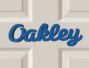 *ANY NAME & ANY COLOUR* Personalised Wooden Name Plaques Bedroom Door Sign #45#