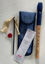 Blockflöte Flöte von Moeck mit Tasche