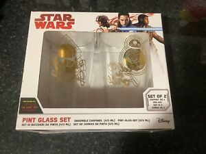Funko Star Wars The Last Jedi Pint Glass Set