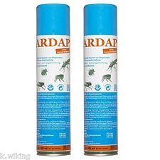 Quiko Ardap 2 x 400ml Ungezieferspray Spray gegen Ameisen Fliegen Spinnen