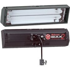 Mole Richardson Biax2 Lighting Package (Pair) with louvers, barn door, case, etc