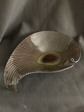 Wild and Crazy Maurice Heaton Art Glass Bowl