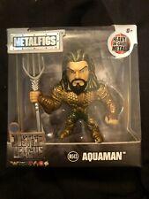 "Jada Toys 2.5"" Metalfigs Aqua man DC  Justice League Die-Cast Metal  NEW"