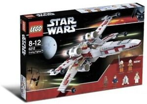 LEGO Star Wars 6212 X-wing Starfighter Complete + Instruction 6 Minifigs No Box