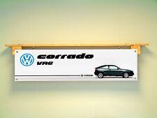 VW Corrado VR6 Volkswagen PVC Work Shop Bannière Garage Car Show Bannière