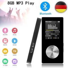 "8GB MP3 Player Bluetooth MP3 Musik Player Mit FM Radio Funktion,1,8"" LCD+Headset"