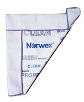 Norwex Window Cloth Clean White- Purple Full Size! Brand New! LIMITED EDITION