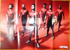 Poster Soccer Magazine Extra Issue 2014 NIKE Cristiano Ronaldo Wayne Rooney RARE