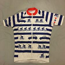 Short Sleeve Polyester Cycling Jerseys
