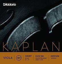 D'Addario Kaplan Viola String Set, Short Scale, Medium Tension