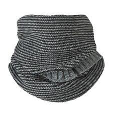Barts David Col Tube Scarf Loop Snood Neck warmer scarf Men's 60 x 30 cm grey