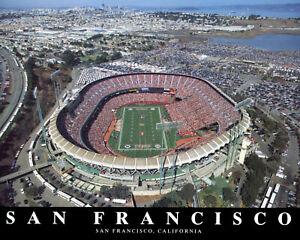 49ers - Candlestick Park, 8x10 Color Photo