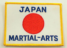 Martial Arts Embroidered Uniform Patch Japan  #Msyl