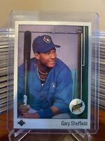 1989 Upper Deck Gary Sheffield #13 Rookie - Free Shipping