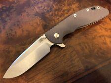 "Rick Hinderer Knives XM-24 4"" - Spear Point - S35VN - Flat Dark Earth FDE G10"