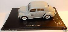 NOREV RENAULT 4CV 4 CV grise 1946 POSTES POSTE PTT 1/43 in blister box