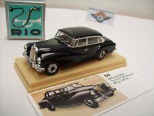 """Mercedes-benz 300 (w189) """"adenauer"""", Black, 1957, rio (Italy) 1:43, embalaje original"""